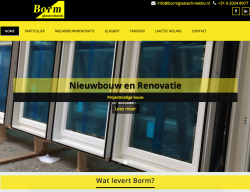 Toka Trading - Website Borm Glastechniek